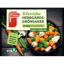 Herrgårsgrönsaker 550 G Findus