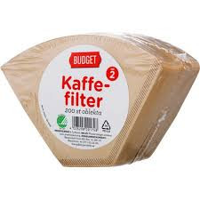 KAFFEFILTER NR 2 200 ST BUDGET