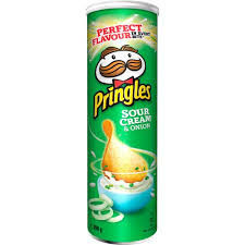 PRINGLES  CHIPS  SOURCREAM & ONION 200 G