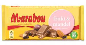 FRUKT & MANDEL 100G MARABOU