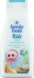 FAMILY FRESH KIDS 2 IN 1 500 ML
