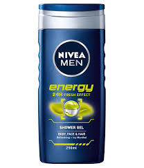 SHOWER NIVEA MEN ENERGY 250 ML