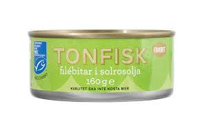 TONFISK I OLJA 160G/115G FAVORIT