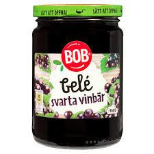 GELE SVARTA VINBÄR 450 G BOB