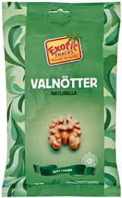 VALNÖTTER NATURELLA 250 GEXOTIC SNACKS