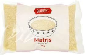 MATRIS PARBOILED 2 KG BUDGET