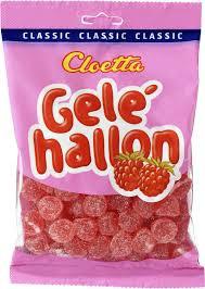GELEHALLON 350 G CLOETTA