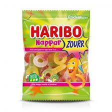 NAPPAR ZOURR 80 G HARIBO 3 FÖR 20:-