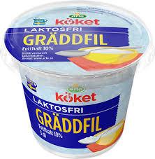 GRÄDDFIL LAKTOSFRI 3 DL ARLA