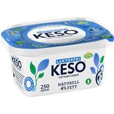 KESO NATURELL 250 G LAKTOSFRI  ARLA