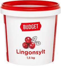 Lingonsylt Hink 1,5 Kg Budget