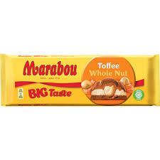CHOKLAD TOFFEE  WHOLE NUT 300 G MARABOU