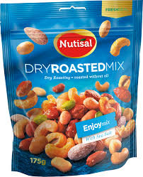 DRY ROASTED MIX FESTIVALMIX 175 G NUTISAL