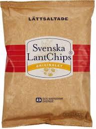 LANTCHIPS LÄTTSALTADE 200 G SVENSKA LANTCHIPS