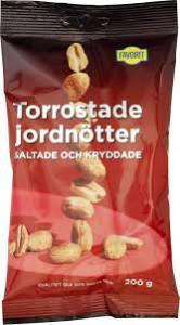 TORROSTADE JORDNÖTTER 200 G FAVORIT