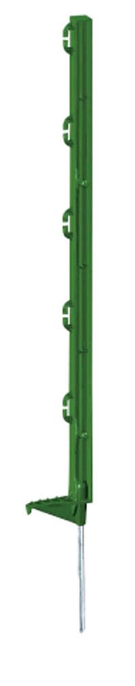 Plaststolpe 70 Cm 5-Pack Grön