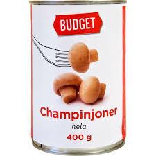 HELA CHAMPINJONER 400 G BUDGET