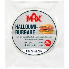 HALLOUMIBURGARE 240 G MAX