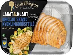 GRILLAD SKIVAD KYCKLINGBRÖST 200 G GULDFÅGEL