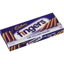 Fingers Chokladkex 114 G Cadbury