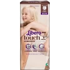 Byxblöjor Libero Touch 7