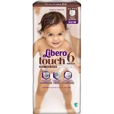 Byxblöjor Libero Touch 6
