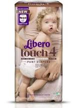 Byxblöjor Libero Touch 4