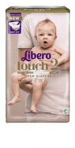 Blöjor Libero Touch 2 Öppen