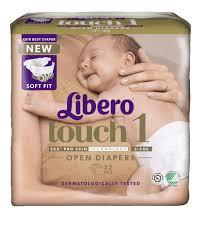 Blöjor Libero Touch 1 Öppen