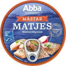 MATJESSILL MÄSTAR  200 G/125 G ABBA