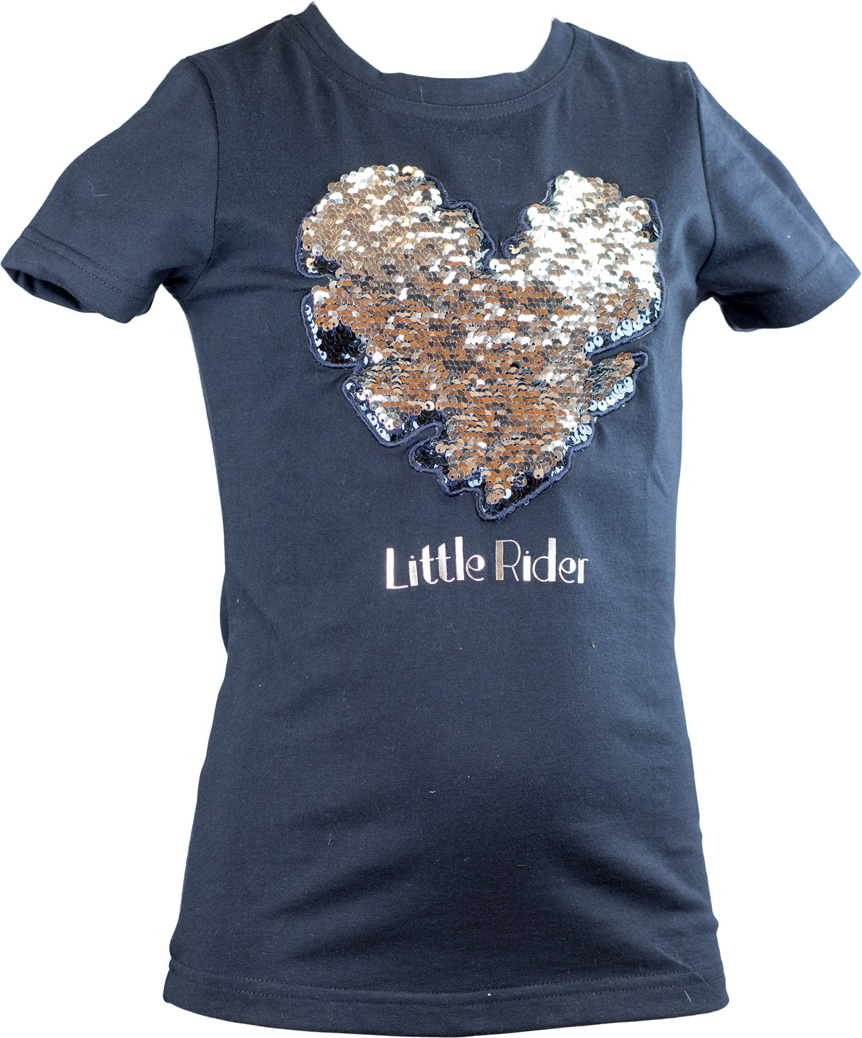 T-SHIRT LITTLE RIDER II MARINBLÅ-navy/120