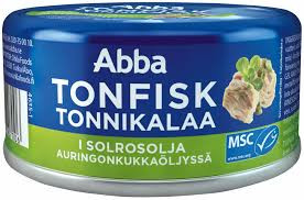 TONFISK I SOLROSOLJA 200 G ABBA