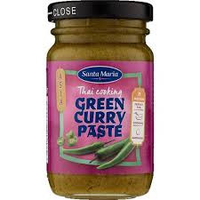 GREEN CURRY PASTE 110 G SANTA MARIA