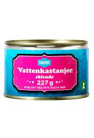 VATTENKASTANJER SKIVADE 227 G FAVORIT