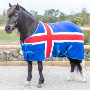 Fleecetäcke Häst Isa