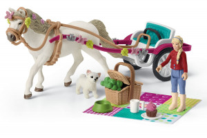 Small Carrige For Big Horse Show Schleich