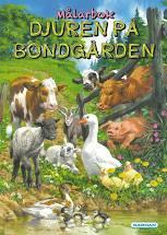 Målarbok Djuren På Bondgården