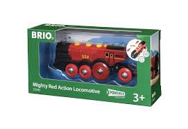 LOK MIGHTY RED ACTION LOCOMOTIVE