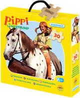 Träpussel 30-Bit Pippi