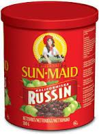 RUSSIN I BURK  500 G SUN MAID