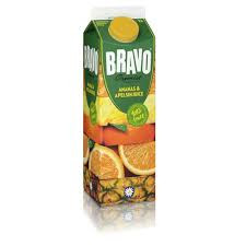 Ananas Apelsin Juice 1 L Bravo