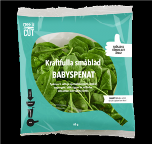 Babyspenat 65 G Chef Cut