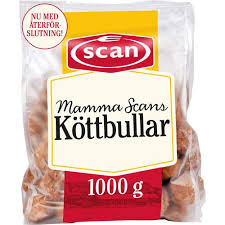 Köttbullar 1000G Mamma Scan