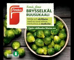Brysselkål 550 G Findus