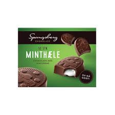 Choklad Mintkräm 12 St Spangsberg