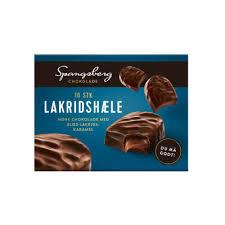 Choklad Lakris Karamel 12 St Spangsberg
