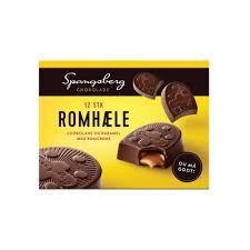 Choklad Romcreme 12 St Spangsberg