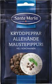 Kryddpeppar Hel 14 G Santa Maria