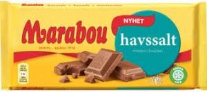 Choklad Havssalt 185 G Marabou
