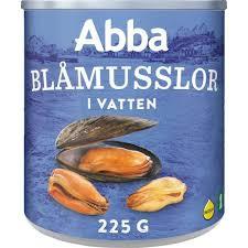 Musslor I Vatten 225G/145G Abba